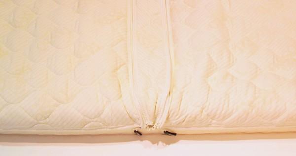 Mittelstreifen zum Einzippen: Baumwolle